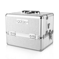 Beauty Case for Tools and Accessories GALAXY TC-1432WG White Glitter Design