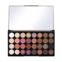 Ultra 32 Eyeshadow Palette MAKEUP REVOLUTION Flawless 4 16g