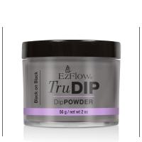 Prah u boji za nadogradnju Dipping tehnikom TruDIP EZFLOW Black on Black 56g