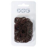 Hair Ties Silicone COMAIR Brown 100pcs