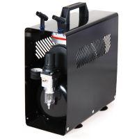 Klipno/bezuljni kompresor za airbrush AS189A sa metalnim kućištem i rezervoarom od 3l