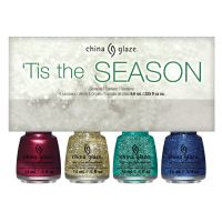 Set lakova za nokte CHINA GLAZE 'Tis The Season 4x9.76ml
