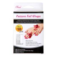 Nail Art Foil Wrap FNW03 10pcs