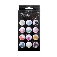Colourful Style Nail Art AN01