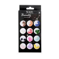 Colourful Style Nail Art Tears AN06
