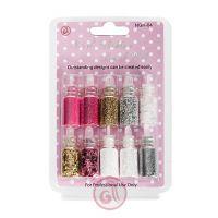 Nail Glitter Dust Kit NGK04 10pcs