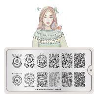 Stamping Nail Art Image Plate MOYOU Enchanted 15