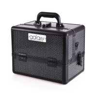 Beauty Case for Tools and Accessories GALAXY TC-1432BG Black Glitter Design