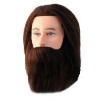 Training Head Natural Hair and Beard COMAIR Paul 35cm