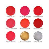 Set UV gelova u boji Clarissa Flash + Shine No4 9x4ml