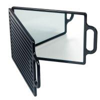 Pokazno ogledalo duplo N01 1 Crno