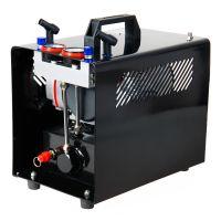 Klipno/bezuljni kompresor za airbrush AS288 sa dva cilindra i rezervoarom od 3l