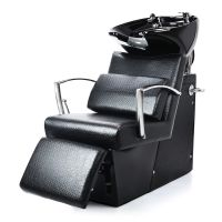 Ceramic Shampoo Chair for Hair Washing NV-78007 with Pillow and Adjustable Footrest