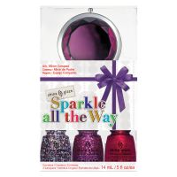 Set lakova za nokte CHINA GLAZE Sparkle All The Way 3x14ml