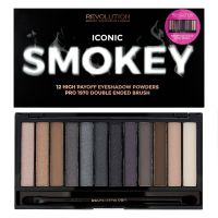 Paleta senki za oči MAKEUP REVOLUTION Iconic Smokey