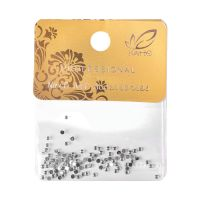Zircons For Nail Art CIR Silver 100pcs