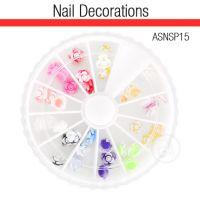 Nail Art Kit 3D Flowers ASNSP15
