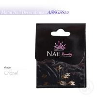 Metal Nail Decorations ASNGSS22