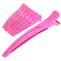 Hair clips 6/1 color 1204 Pink