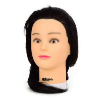 Trening lutka sa prirodnom kosom KIEPE Crna 45cm