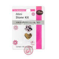 Dekorativno kamenje za Nail Art u setu MSK004 Mini 48/1