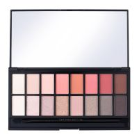 Paleta senki za oči MAKEUP REVOLUTION New-Trals vs Neutrals 16g