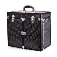 Kozmetički kofer za alat i pribor GALAXY TC-3268R Crni gliter dizajn