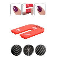 Magnet With Three Designs For Nail Art CHINA GLAZE Magnetix I