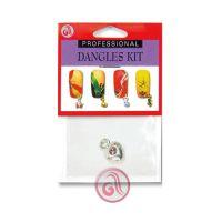 Privezak za nokte srebrno srce D6