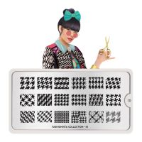 Stamping Nail Art Image Plate MOYOU Fashionista 10