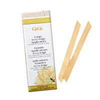 Wooden Wax Applicators GIGI Large 1000/1