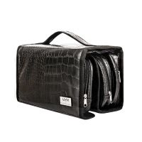 Black Croc Deluxe Travel Bag NYX Professional Makeup MBG18