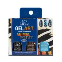 Set trajnih lakova UV/LED IBD JUST GEL POLISH Animal Print 3x7.4ml