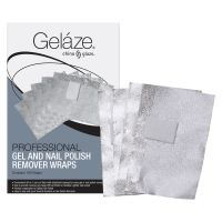 Gel Polish Remover Wraps GELAZE 100pcs