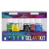Set trajnih lakova IBD JUST GEL POLISH Gel Art Kit 6x7.4ml