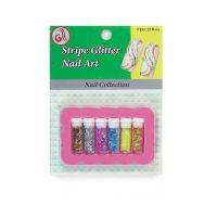 Stripe Glitter Kit STR03 6pcs