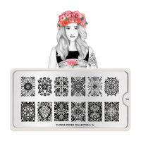 Stamping Nail Art Image Plate MOYOU Flower Power 14