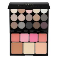 Butt Naked Eyes Makeup Palette NYX Professional Makeup S122