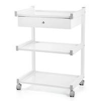 Cosmetic Trolley DP-6038A with Three Shelves and One Drawer