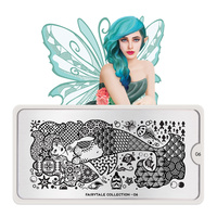 Stamping Nail Art Image Plate MOYOU Fairytale 06