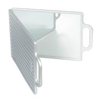 Salon Mirror Double 9978 N01 Silver