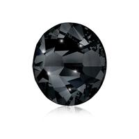 Nail Crystals SWAROVSKI, A 2058 XILION Rose Enhanced, SS5 Jet 40/1