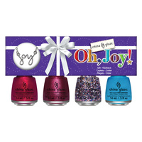 Nail Polish Set CHINA GLAZE Oh, Joy! 4x14ml