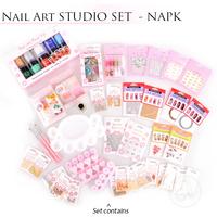 Decorations For Nail Art NAPK Studio Kit 40/1