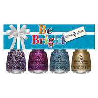 Nail Polishe Set CHINA GLAZE Be Bright 4x9.76ml