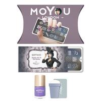 Stamping set MOYOU Gothic