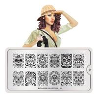 Stamping Nail Art Image Plate MOYOU Explorer 29
