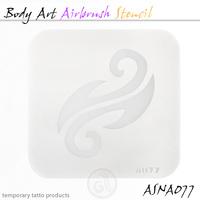 Body Art Stencils ASN-BMA-A077