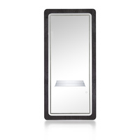 Mirror for Hair Salon NS8028AAC with shelf and led lighting