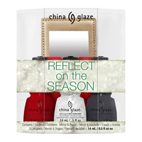 Nail Polish Set CHINA GLAZE Reflect On The Season 4x14ml